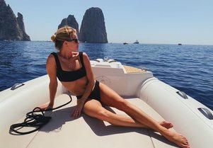How to do your Amalfi Coast yacht charter like Rosie Huntington-Whiteley