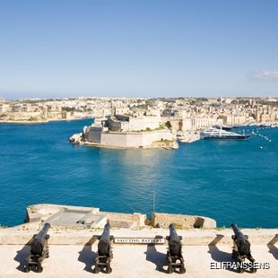 See the Battery that has Shaped Malta's History