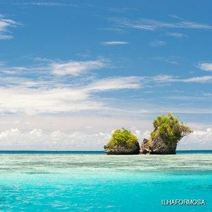 Rock Islands in Palau