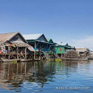 Poor, primitive fishing village