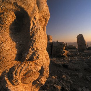 The Mount Nemrut Remains