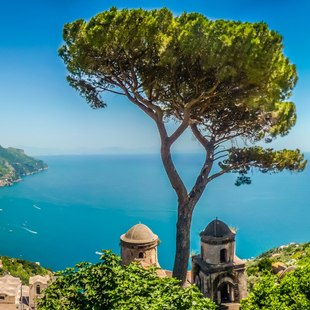 Visit the enchanting gardens of Villa Rufolo