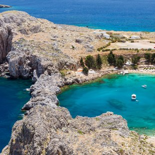 Exquisite Waters of St Pauls Bay, Lindos