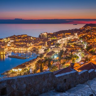 Enjoy Dubrovnik at Night