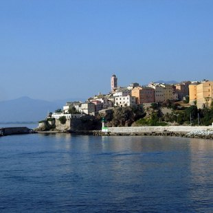 Colourful Waterfront Buildings of Bastia
