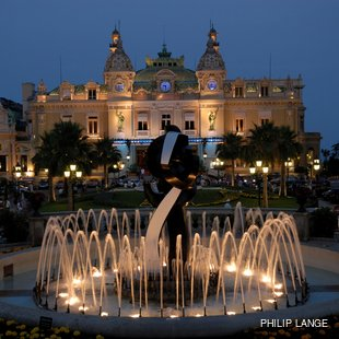 Be Charmed by Monte Carlo Casino at Night