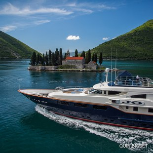 Visit the Bay of Kotor on your Superyacht