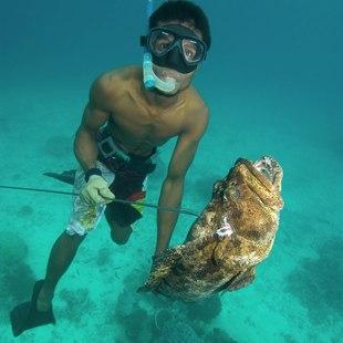 Palau Islands Fisherman