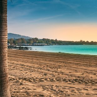 Visit a private beach