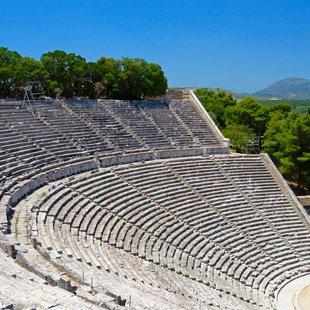 Ancient Ampitheatre of Epidavros, Peloponnese