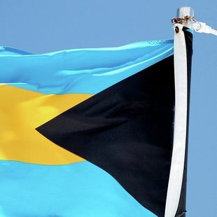Admire the Flag of Bahamas