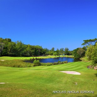 Enjoy 18 Holes in Praslin