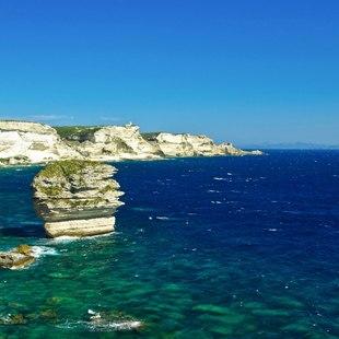 Limestone Cliffs of Bonifacio