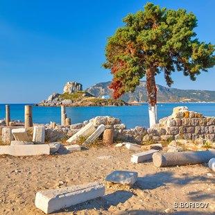Ancient Ruins on Kos Island