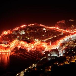 Enjoy Dubrovnik at Night
