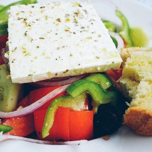 Fresh Greek Salad in Nafplion