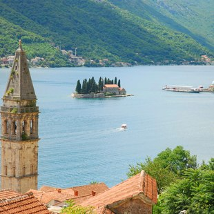 Views from the Montenegro Coast
