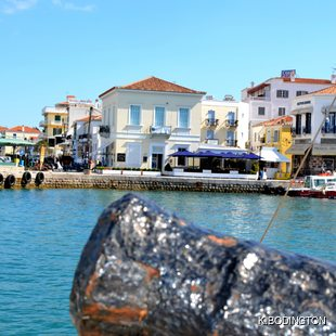 Waterfront Restaurants on the island of Spetses