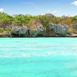 Azure Haitian sea