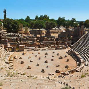 Admire the Historical Landmarks of Myra