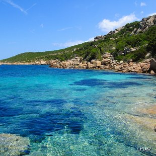 Beautiful natural coastline