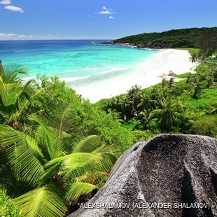 Grand Anse on La Digue island