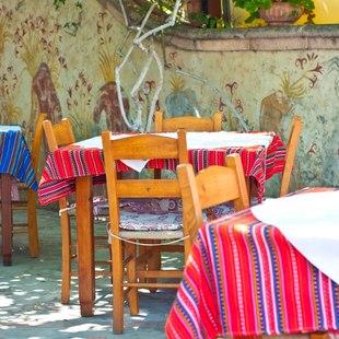 Traditional Greek Taverna in Poros