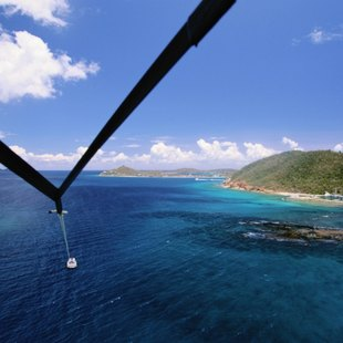 Parascending in St Maarten