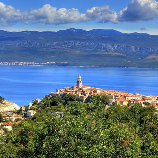 Cruise the East Coast of Krk to Vrbnik
