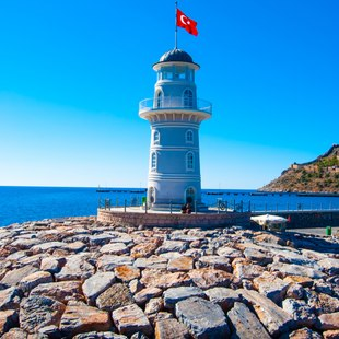 Picturesque Lighthouse in Marmaris