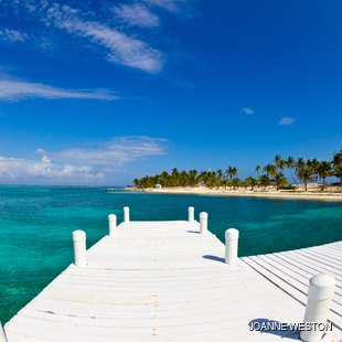 Scenic pier