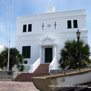 An example of the oldest Bermudian architecture