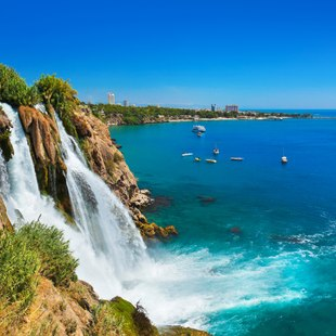 Marvel at the Breathtaking Duden Waterfalls