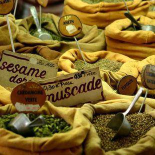 Spice Market in Bastia