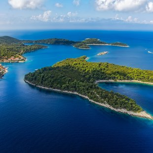 Mljet Island in Croatia