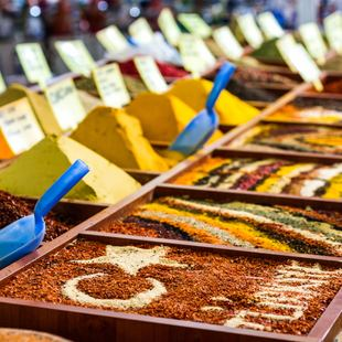 Spice Store in Bodrum, Turkey