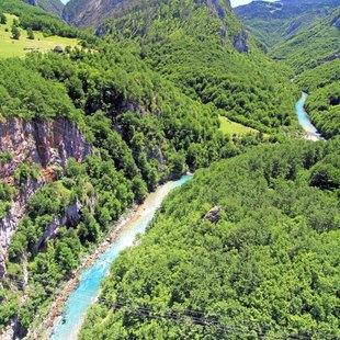 Explore the Tara River Canyon