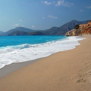 Breathtaking Oludeniz Beach in Fethiye
