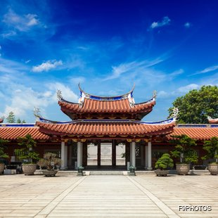 Entrance to the Buddhist Monastery
