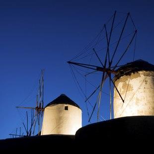 The Iconic Mykonos Windmills