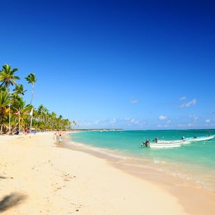 Touristic beach
