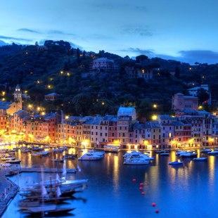 Enjoy an Evening in Portofino Harbour