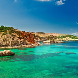 The snorkelling paradise of Cala Xarraca
