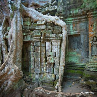 Remains of ancient buddhist temple
