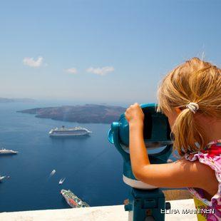 Views from Ashore in Thira, Santorini