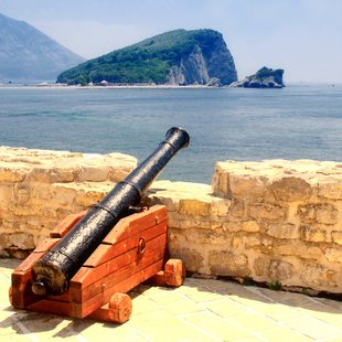 Views from Fortress of Old Budva