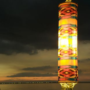 Interesting figured lantern
