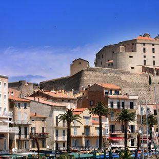 Citadel overlooking the Port of Calvi