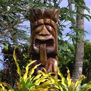 Native Statue God of Fertility