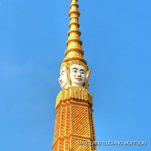 Gold tower of the Grand Palace